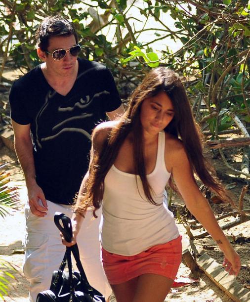 Messi en zijn vriendin