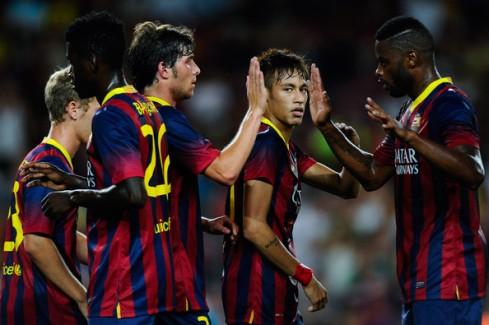 Neymar+Barcelona+v+Santos+Pre+Season+Friendly+Jfk-vVg47Ttl