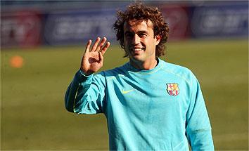 De vergeten Barça-held, vrolijk zwaaiend net als Pellè: Santiago Ezquerro