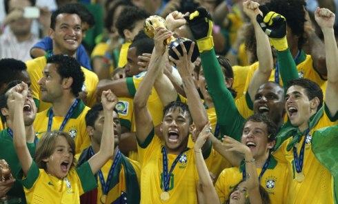 De Brazilianen zijn er klaar voor