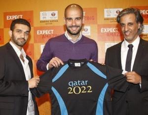 Guardiola en zijn makkers uit Qatar