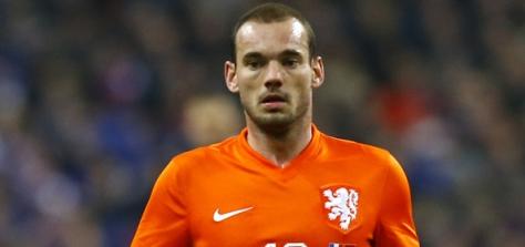 Eén van de topscorers van het WK 2010: Wesley Sneijder. Foto: SoccerNews.nl